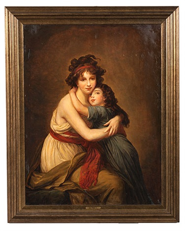 mother and child by elisabeth louise vigée le brun