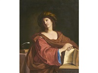 the samian sibyl by guercino