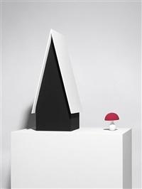 hexenhaus und pilz (2-teiliges objekt) by katharina fritsch