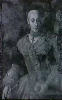 portrait der maria paula kolin by carl reiser