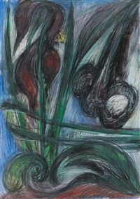 ohne titel (florale komposition) by antonius höckelmann