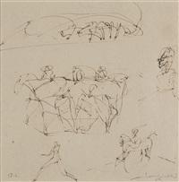 skizze (13.2.90) by lothar fischer