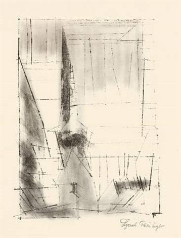 gelmeroda by lyonel feininger