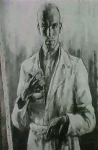 selbstportrait by karl heinz glaab