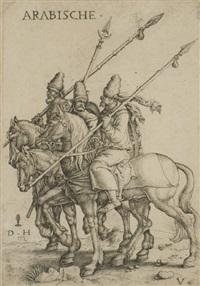 arabian soldiers by daniel hopfer