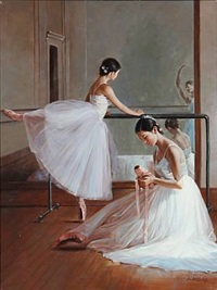 ballet girls by alexander akopov