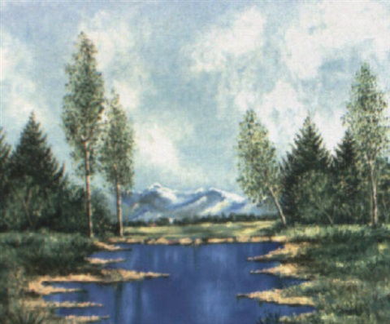 paisaje by mariano gutierrez viguera