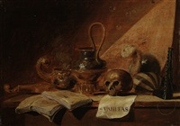 vanitas-stilleben by jan jansz buesem