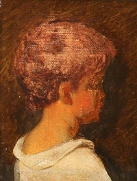 et lille pus (portrait of a boy) by ernst meyer
