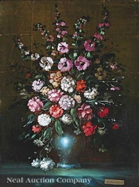 still life with spring flowers by karl knappe