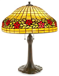 a lamp by art glass & metal co.