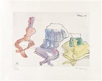 artwork 7 by maria lassnig