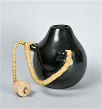 small pot with cork by nathan youngblood
