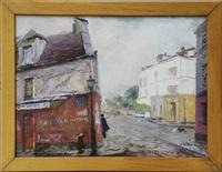 paris montmartre - rue norvin by attilio melo