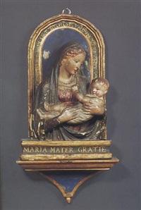 madonna mit kind by luca della robbia