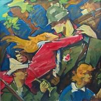 auszug der soldaten by heinrich emil adametz