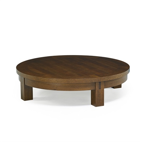 Low large coffee table by christian liaigre on artnet for Large low coffee table