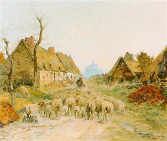 village de la rive by adrien gabriel voisard margerie