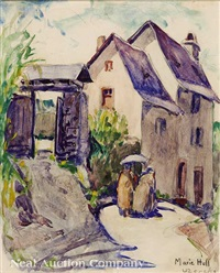 uzerche, france by marie atkinson hull