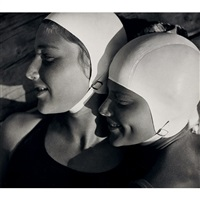 bathing caps by rudolf koppitz