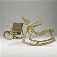 rocking chairs (pair) by ralph rapson
