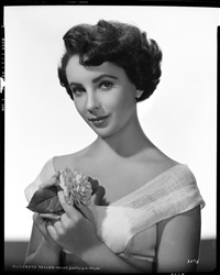 elizabeth taylor camera negative (from quo vadis) by virgil apger