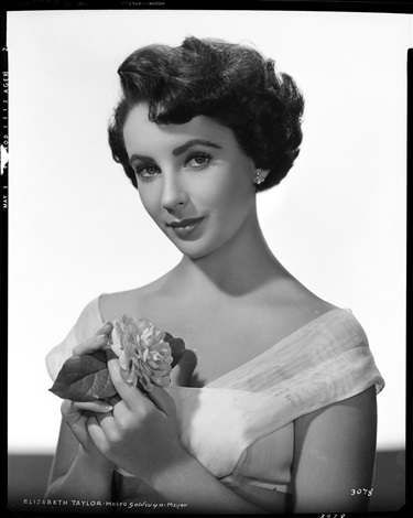 elizabeth taylor camera negative from quo vadis by virgil apger