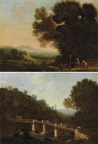 jagdszene und rast auf der flucht (pair) by anonymous-flemish (17)