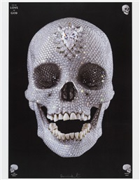 for the love of god the diamond skull by damien hirst