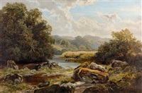 on the machno near pandy mill by harry wallace