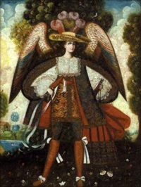 archangel gabriel by peruvian school-cuzco (19)