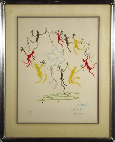 la ronde de la jeunesse (the dance of the youth) by pablo picasso