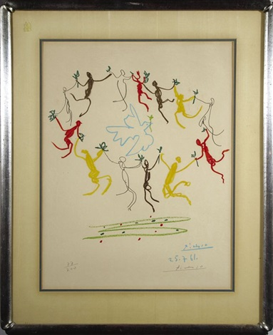 la ronde de la jeunesse the dance of the youth by pablo picasso