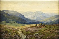 the cairn gorms - ben macdhui by george melvin rennie
