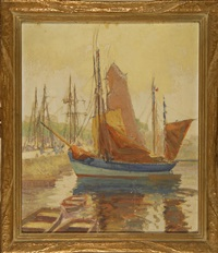 fitting out the tuna fishers by henry stephens eddy