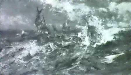 stormy seas by robert hopkins