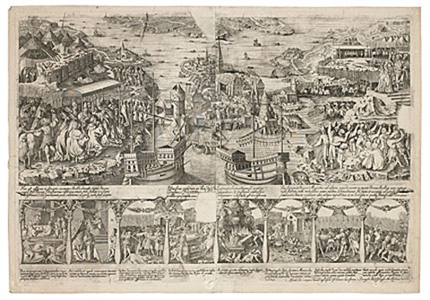 kristian iis intåg i stockholm stockholms blodbad 1520 by dionysius padtbrugge