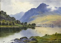 ben lomond from luss by donald a. paton
