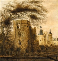 view of a castle by pieter cosyn