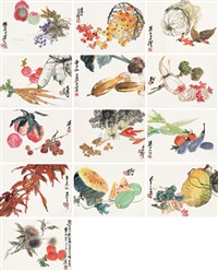 蔬果 (portfolio of 13) by xu sunmu