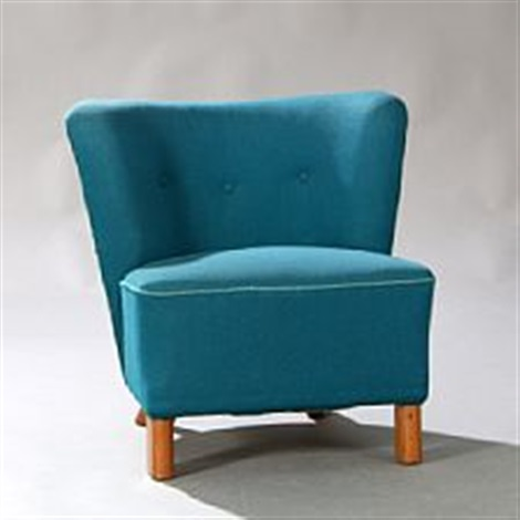 Small Easy Chair By Otto Færge