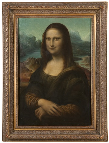 portrait of the mona lisa by leonardo da vinci