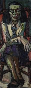 porträt margot hielscher by herbert helmert