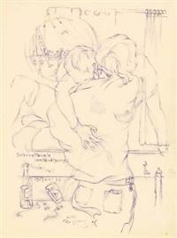 reisetagebuch (schwedische impressionen) (29 works) by heinz hajek-halke