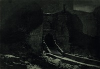 harlech castle by james craig annan