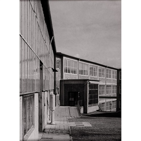 industrial building by albert renger patzsch