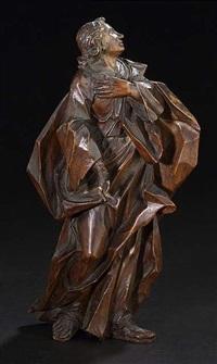 relieffigur des hl. johannes by johann benedikt witz