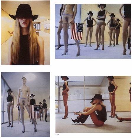 vb 34, 1998, royal opening, moderna museet, s-stockholm by vanessa beecroft