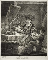 collection of approximately 110 prints by william (captain) baillie