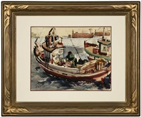 fishing boats - pedro by neil jacobe